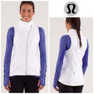 LULULEMON | Run: Gust Buster Vest in White Size 4
